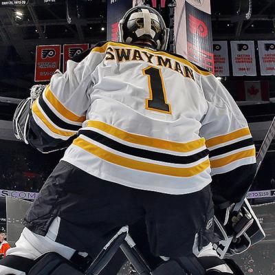 #50: Jeremy Swayman – Boston Bruins